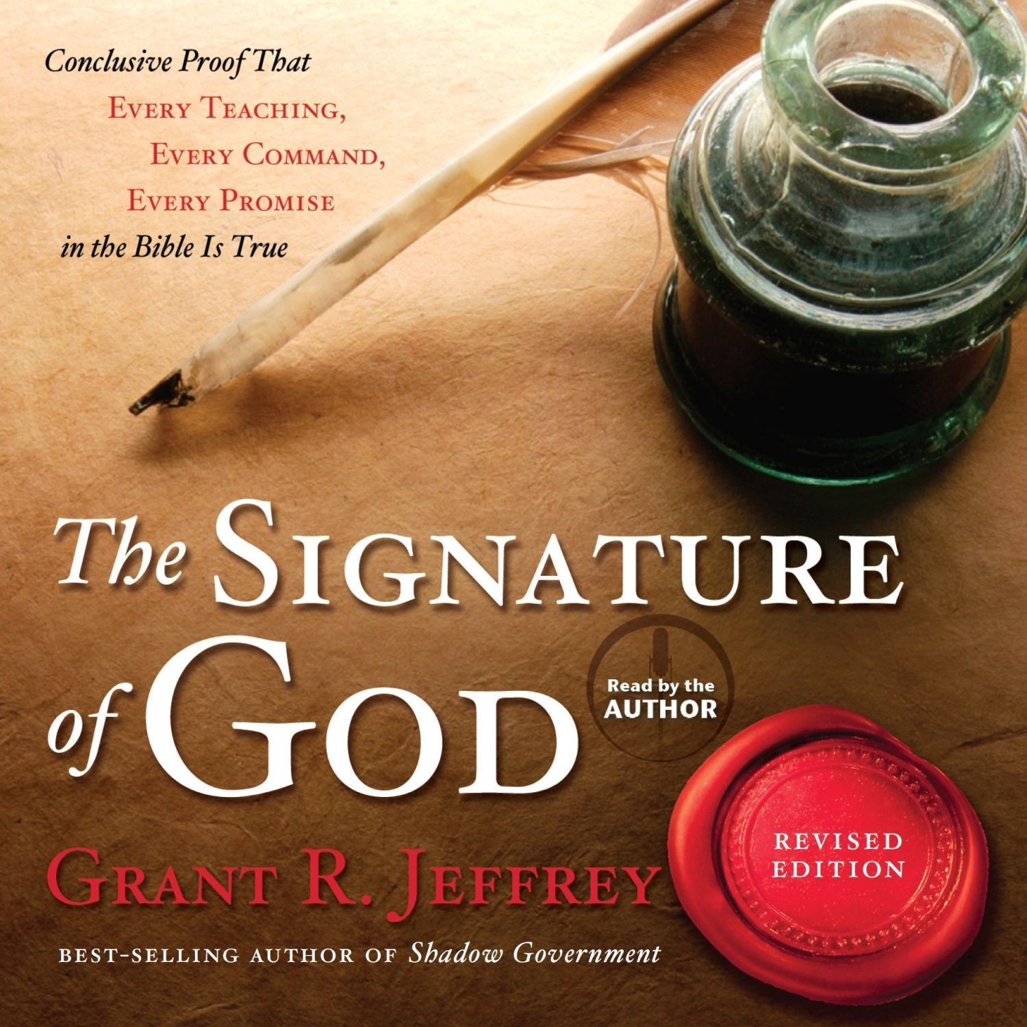 Printable The Signature of God: Conclusive Proof That Every Teaching, Every Command, Every Promise in the Bible Is True Audiobook Cover Art