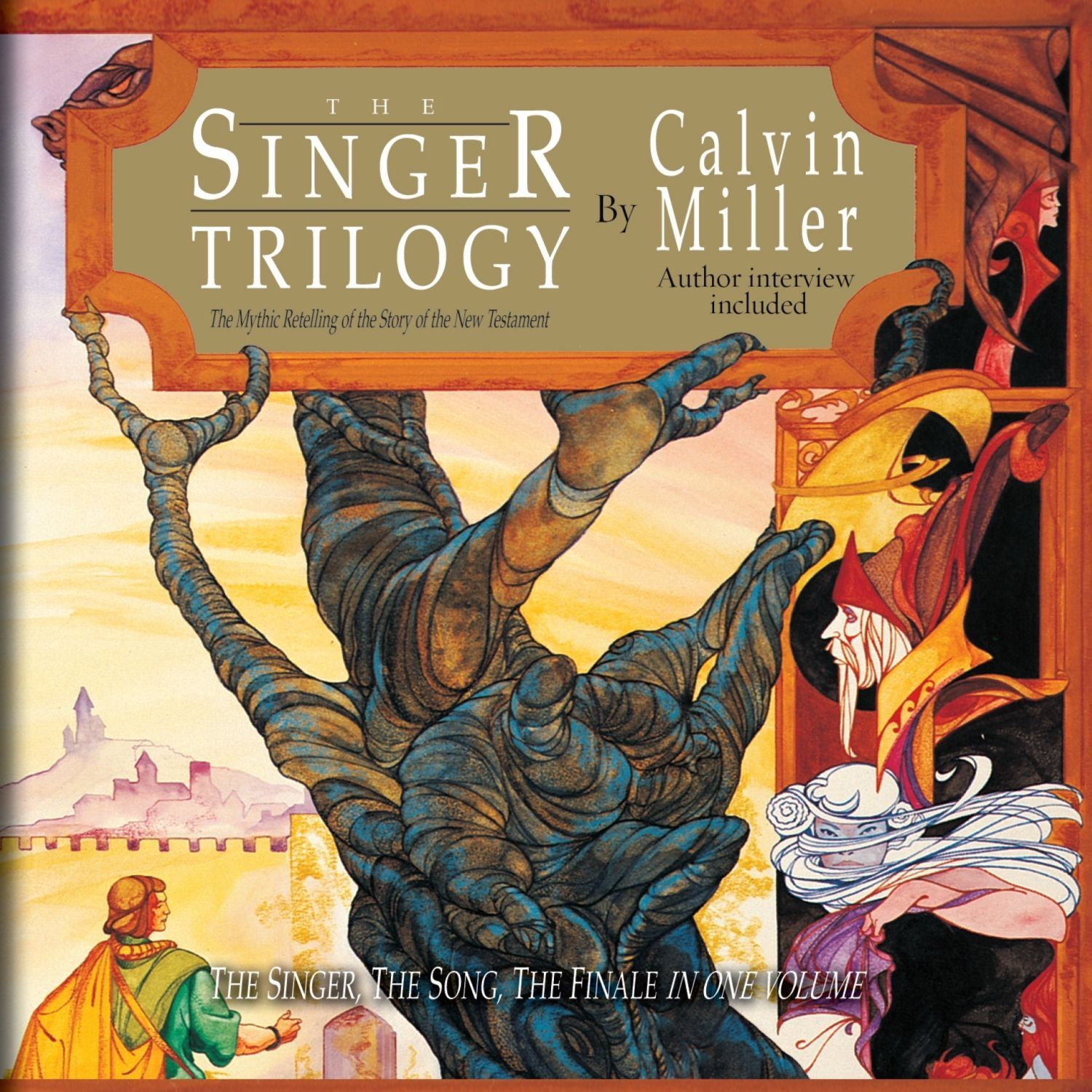 Printable The Singer Trilogy: A Classic Retelling of Cosmic Conflict Audiobook Cover Art