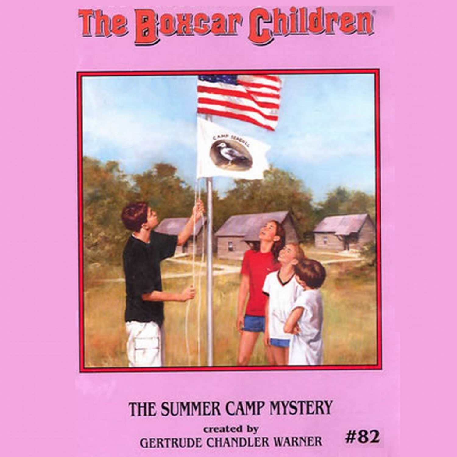 Printable The Summer Camp Mystery Audiobook Cover Art