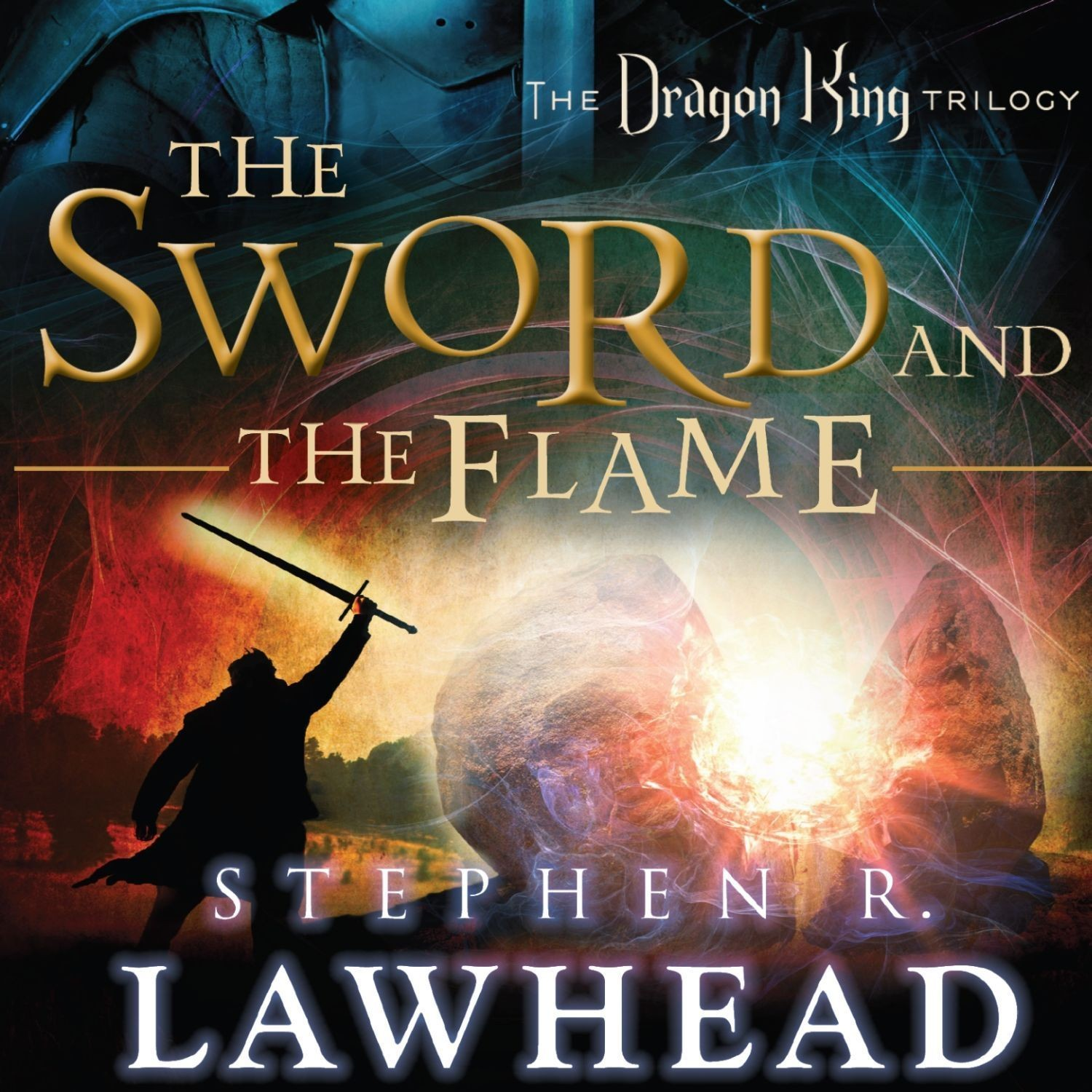 Printable The Sword and the Flame Audiobook Cover Art