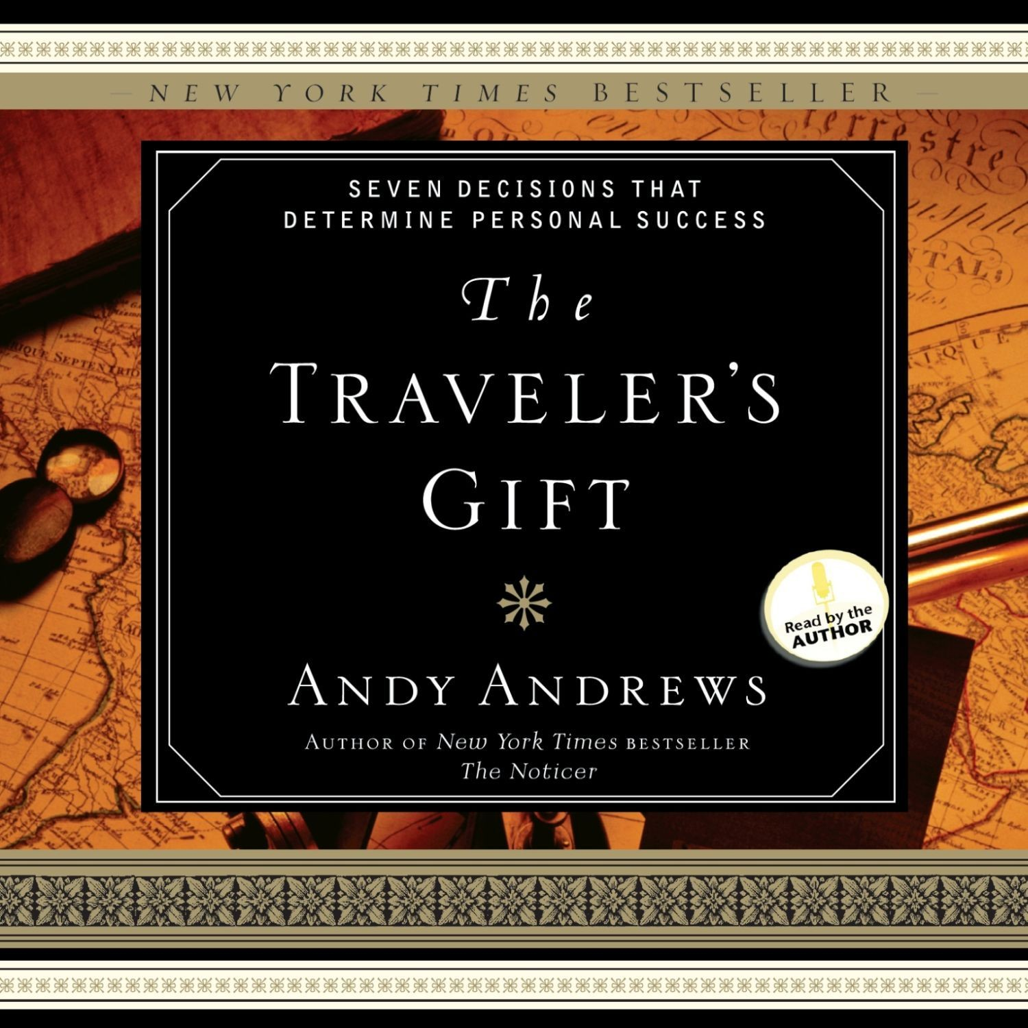 Printable The Traveler's Gift: Seven Decisions that Determine Personal Success Audiobook Cover Art