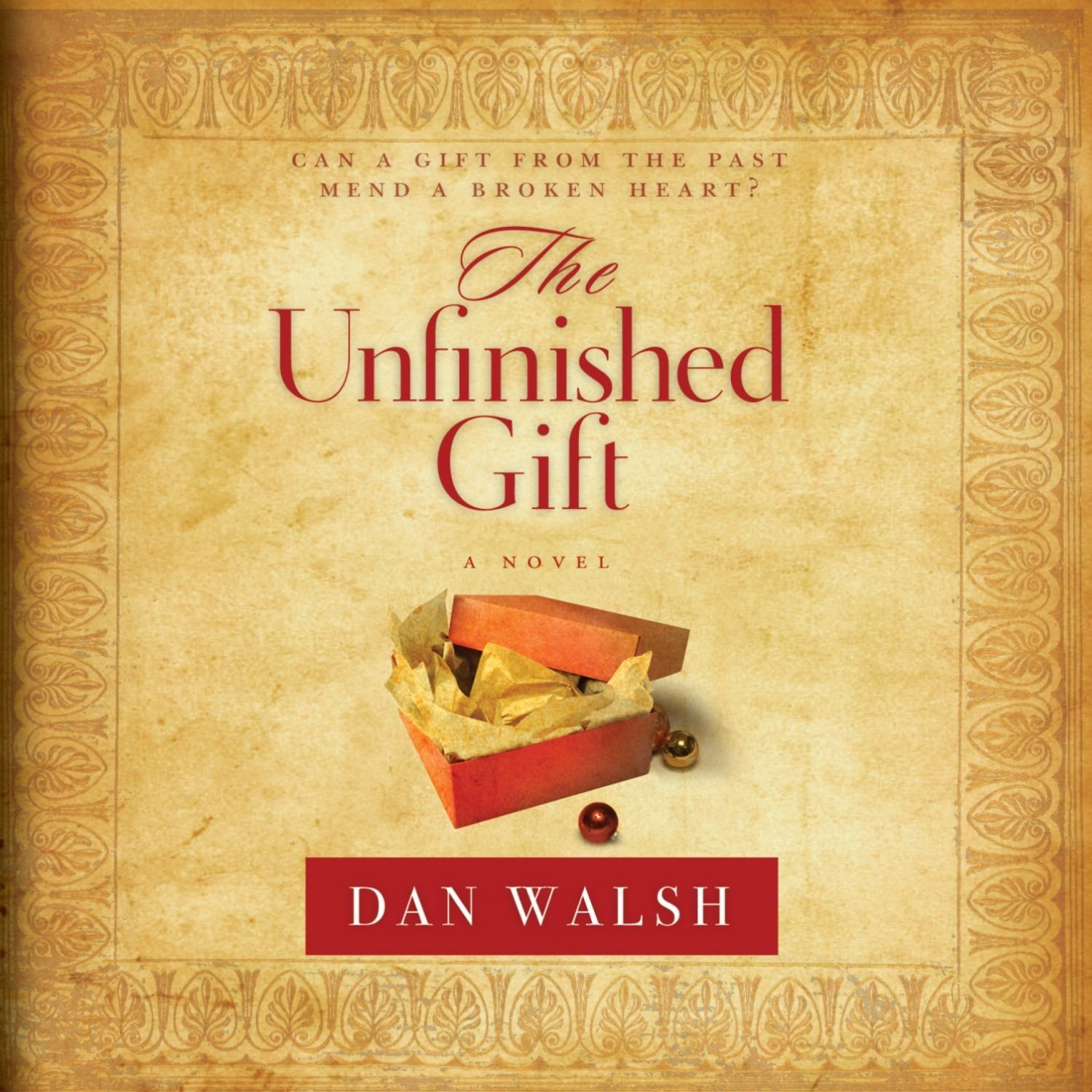 Printable The Unfinished Gift: A Novel Audiobook Cover Art