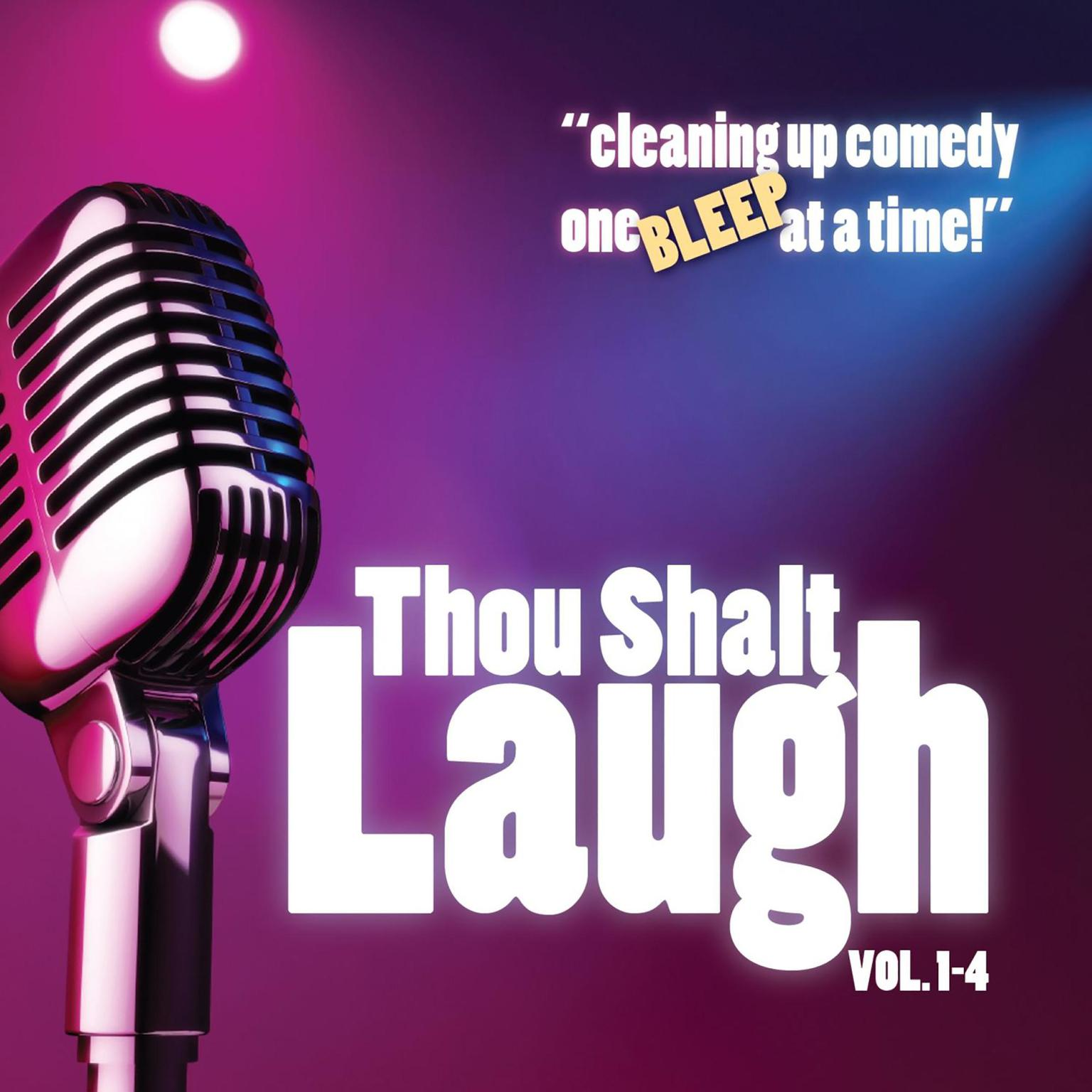 Printable Thou Shalt Laugh Audiobook Cover Art