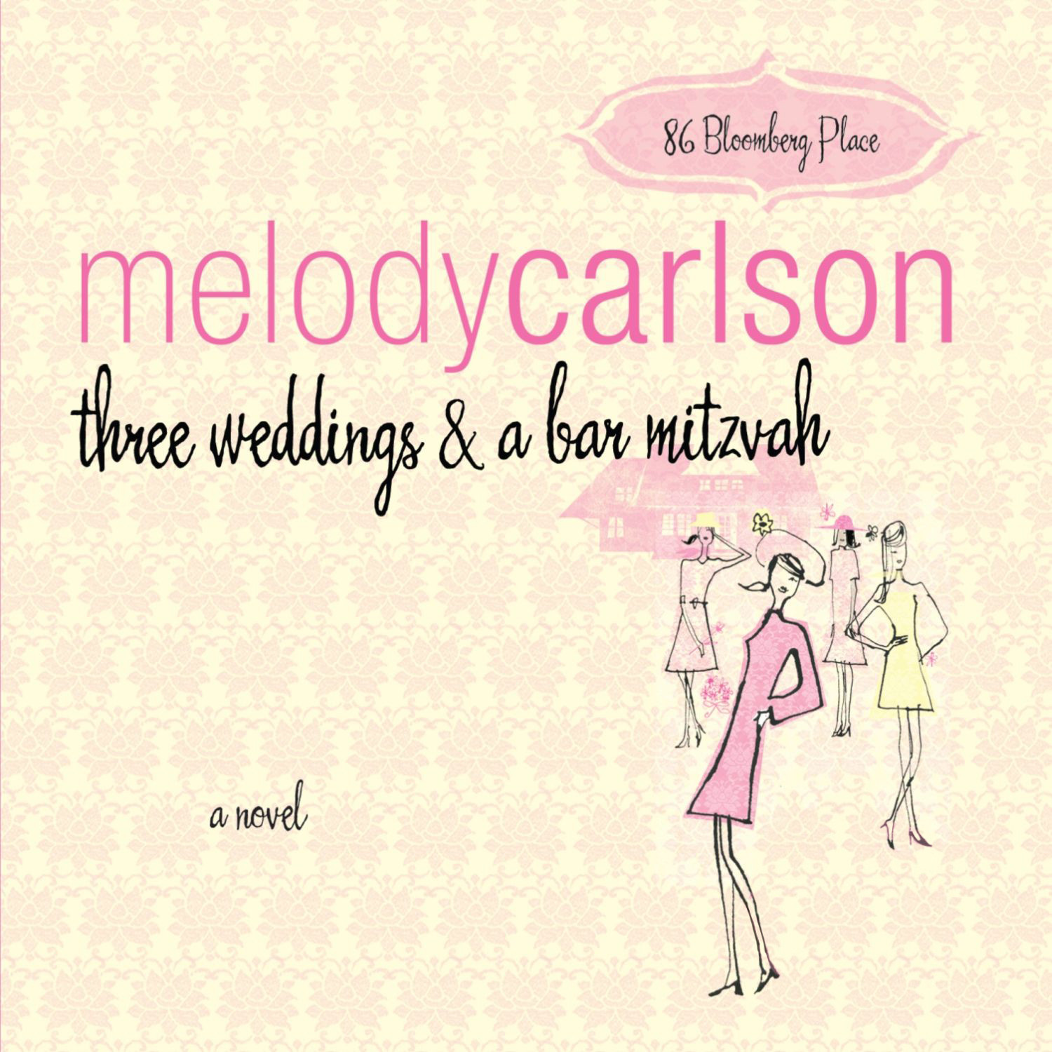 Printable Three Weddings and a Bar Mitzvah Audiobook Cover Art