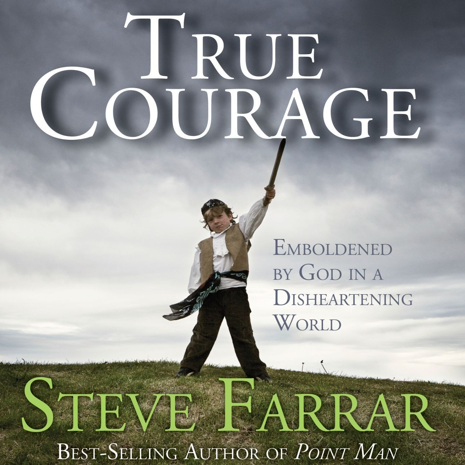 Printable True Courage: Emboldened by God in a Disheartening World Audiobook Cover Art