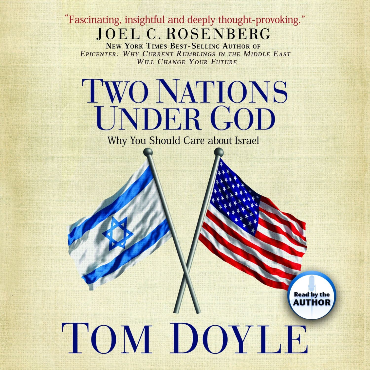 Printable Two Nations Under God: Good News From the Middle East Audiobook Cover Art