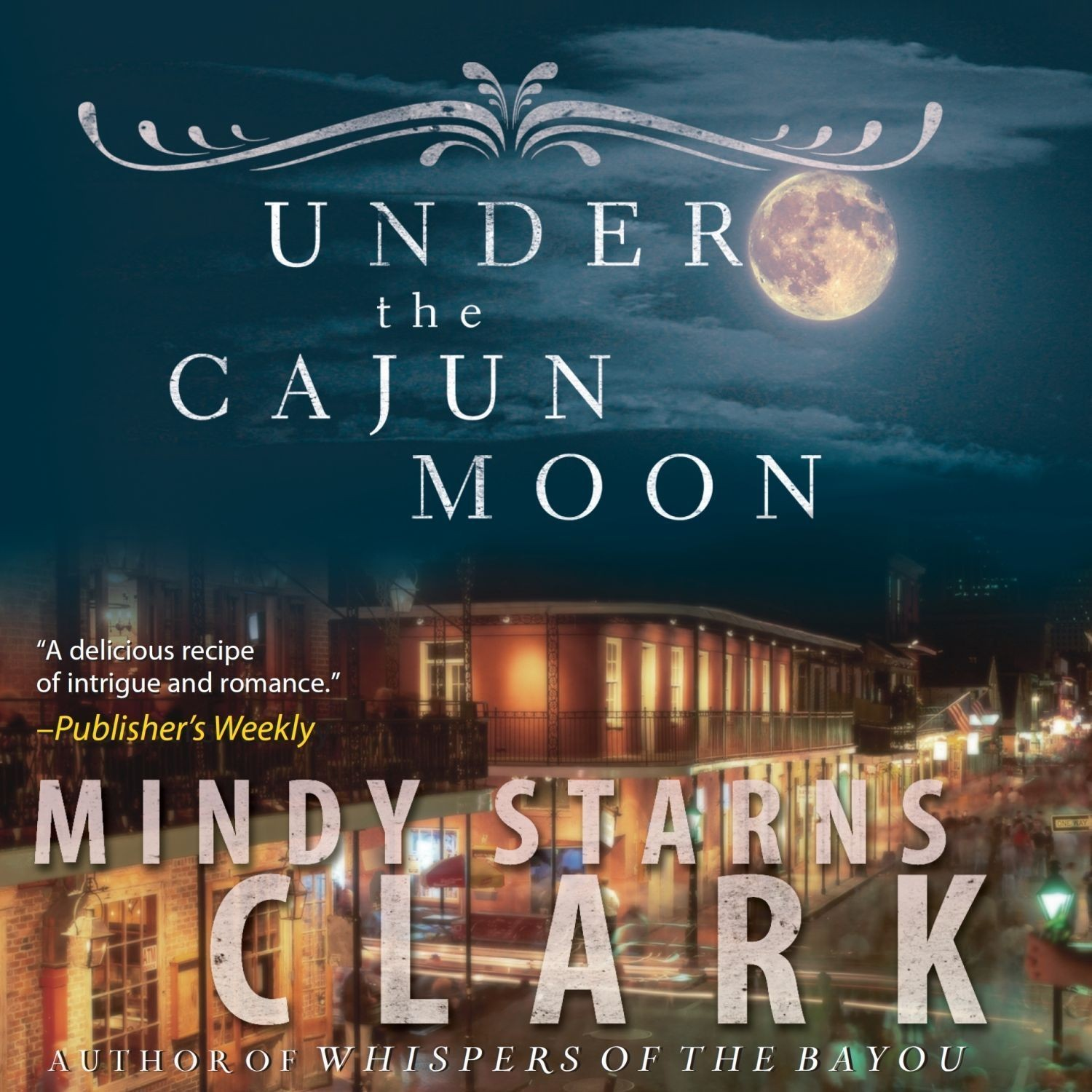 Printable Under the Cajun Moon Audiobook Cover Art