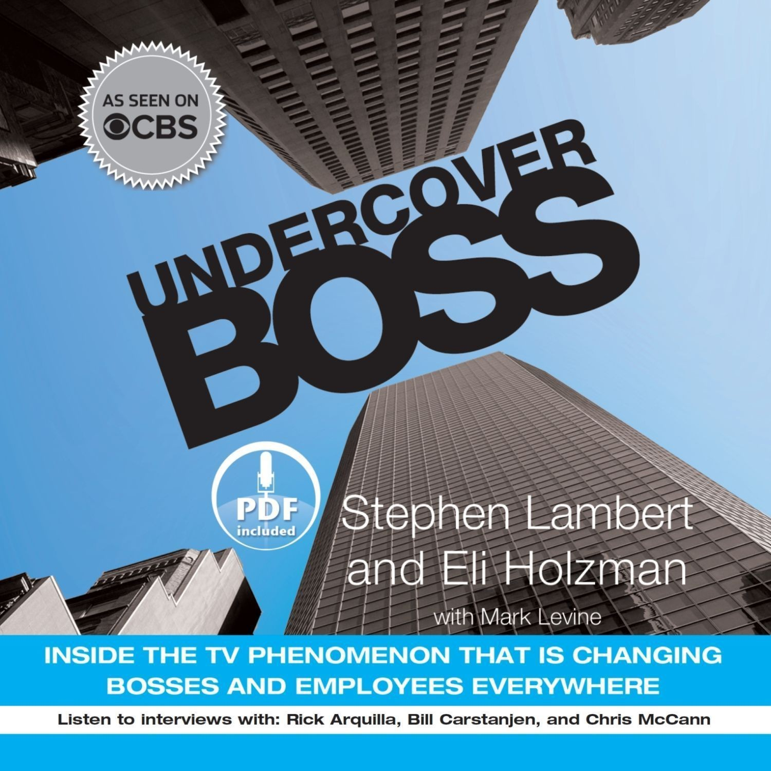 Printable Undercover Boss: Inside the TV Phenomenon that is Changing Bosses and Employees Everywhere Audiobook Cover Art