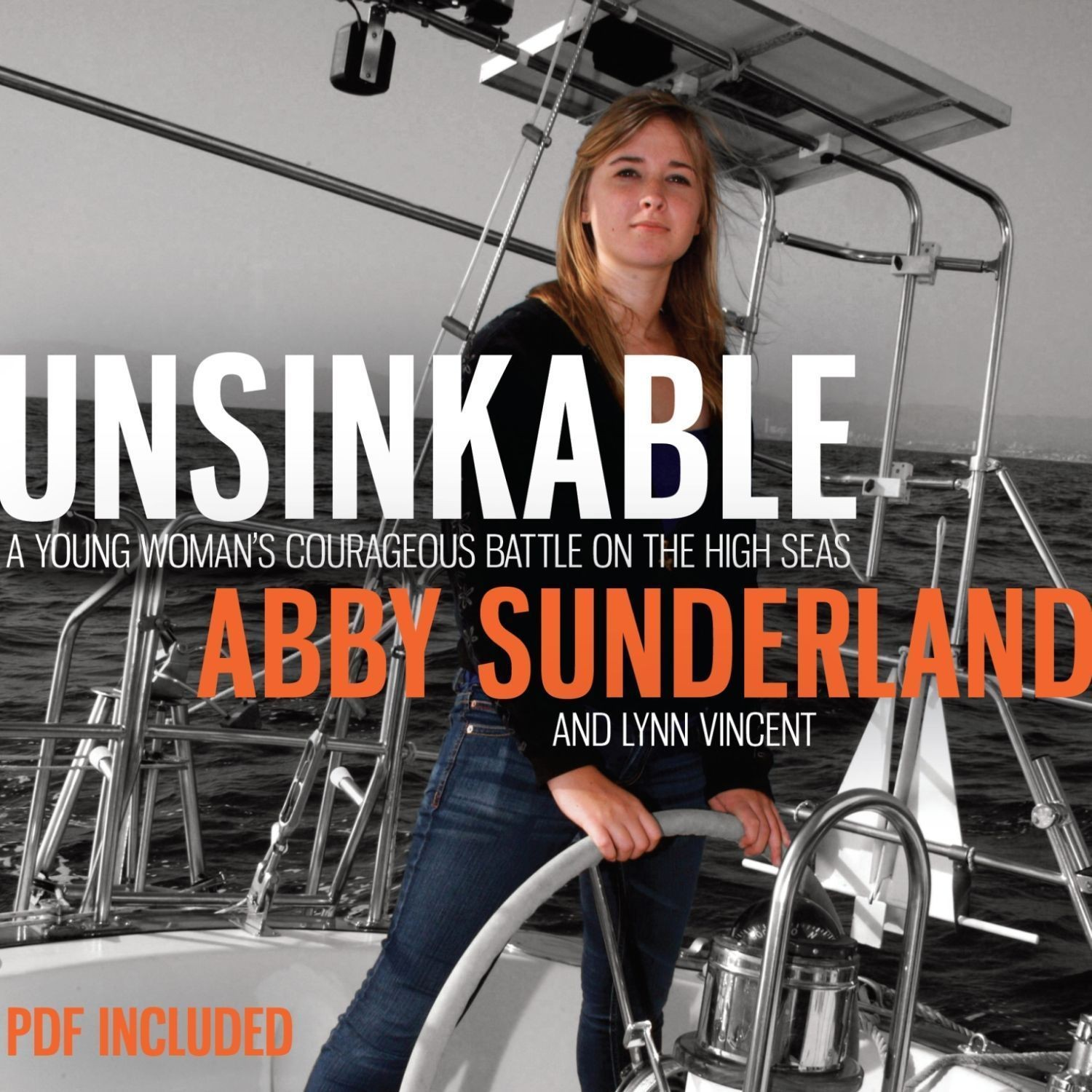 Printable Unsinkable: A Young Woman's Courageous Battle on the High Seas Audiobook Cover Art