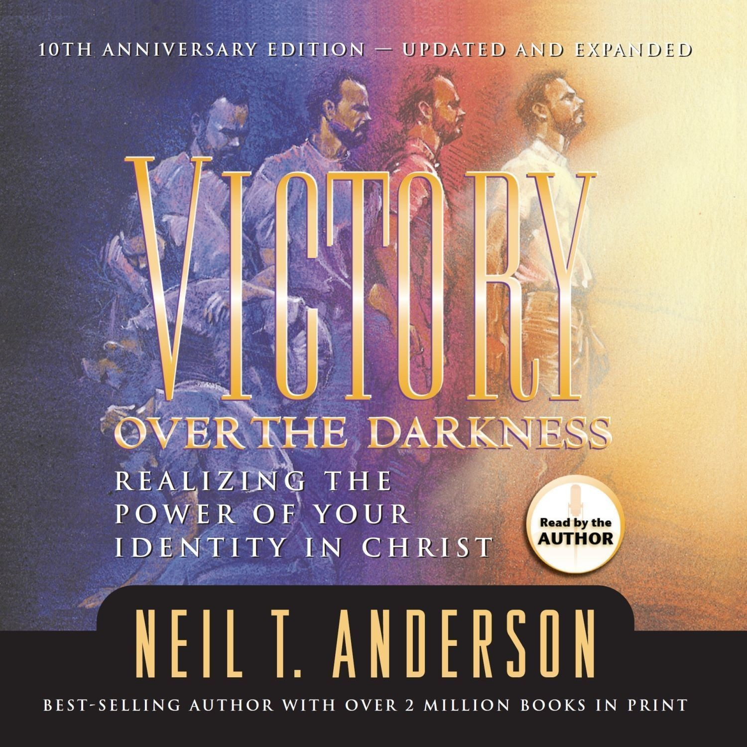 Printable Victory Over the Darkness Audiobook Cover Art
