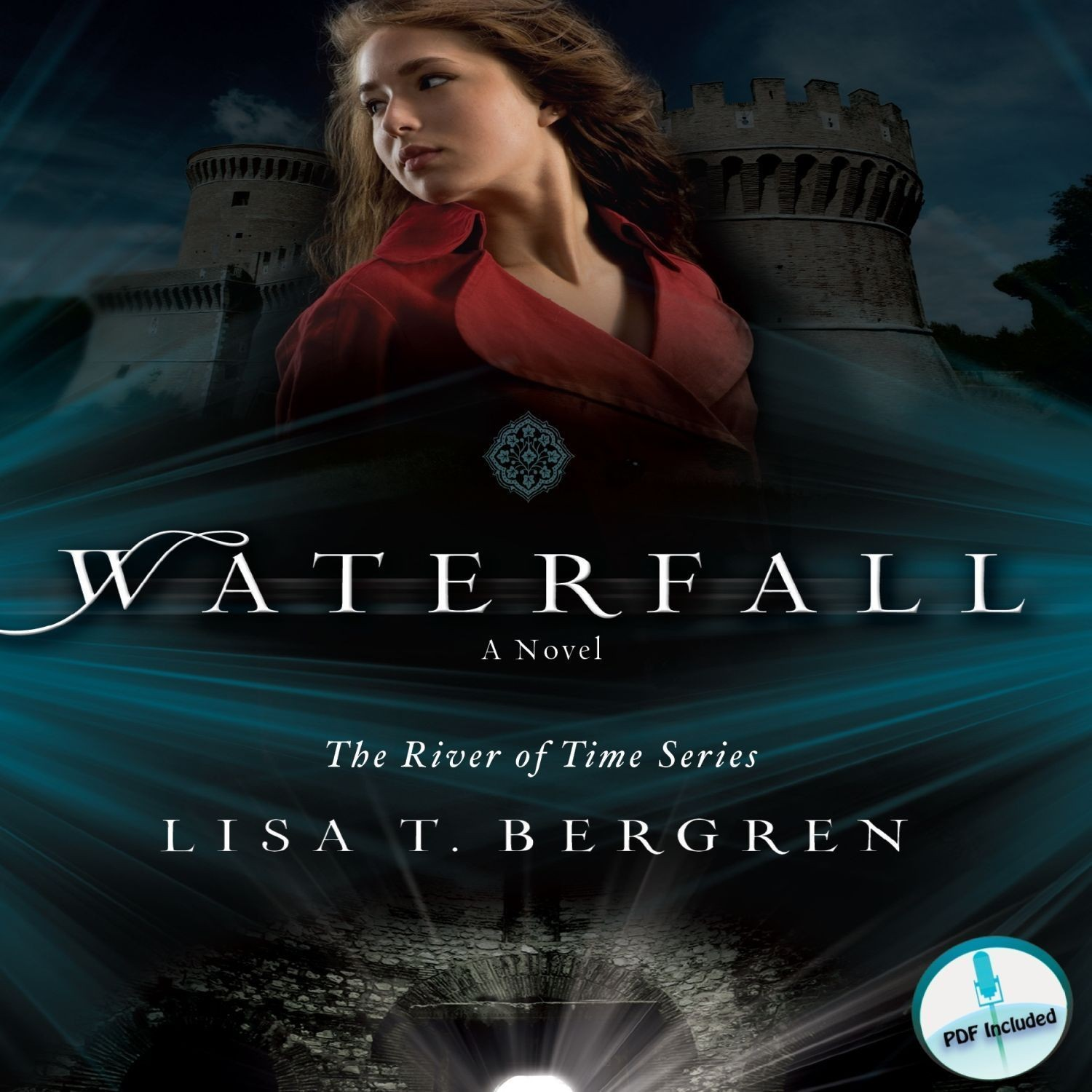 Printable Waterfall: A Novel Audiobook Cover Art