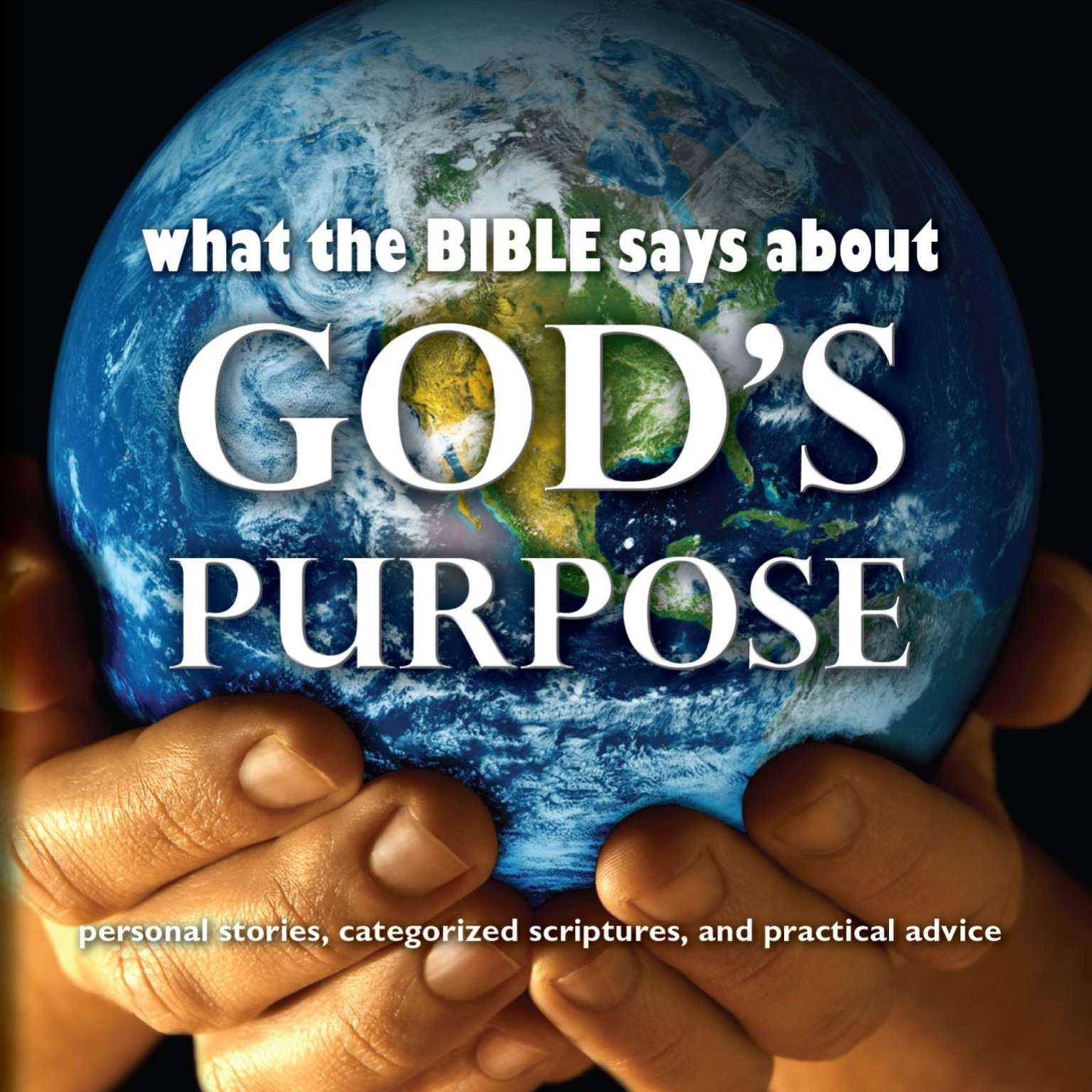 Printable What the Bible Says About God's Purpose Audiobook Cover Art
