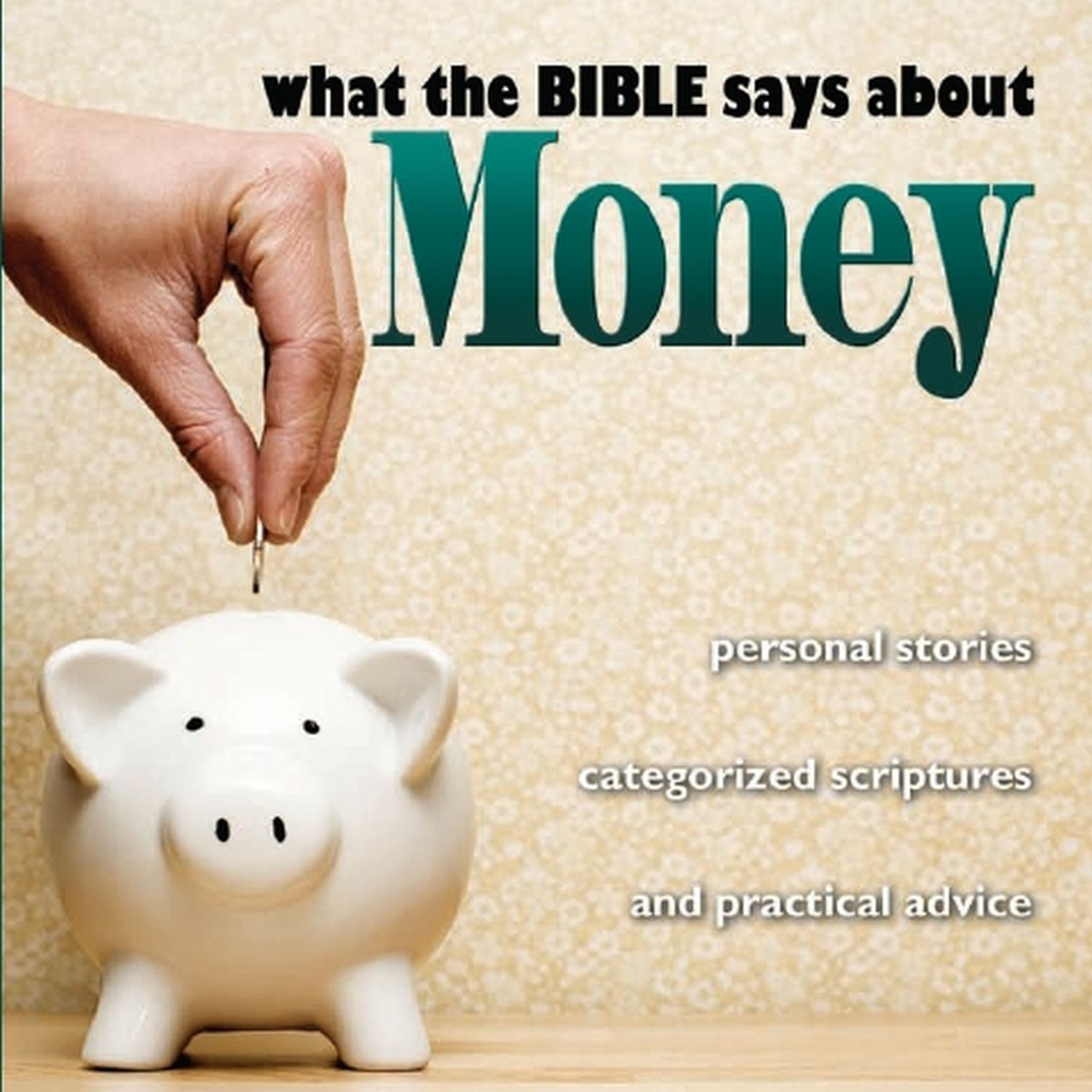 Printable What the Bible Says About Money Audiobook Cover Art