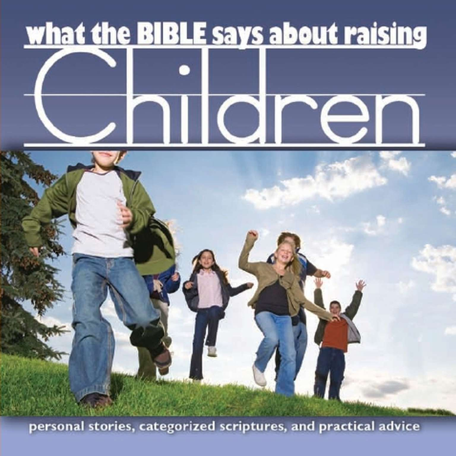 Printable What the Bible Says about Raising Children Audiobook Cover Art