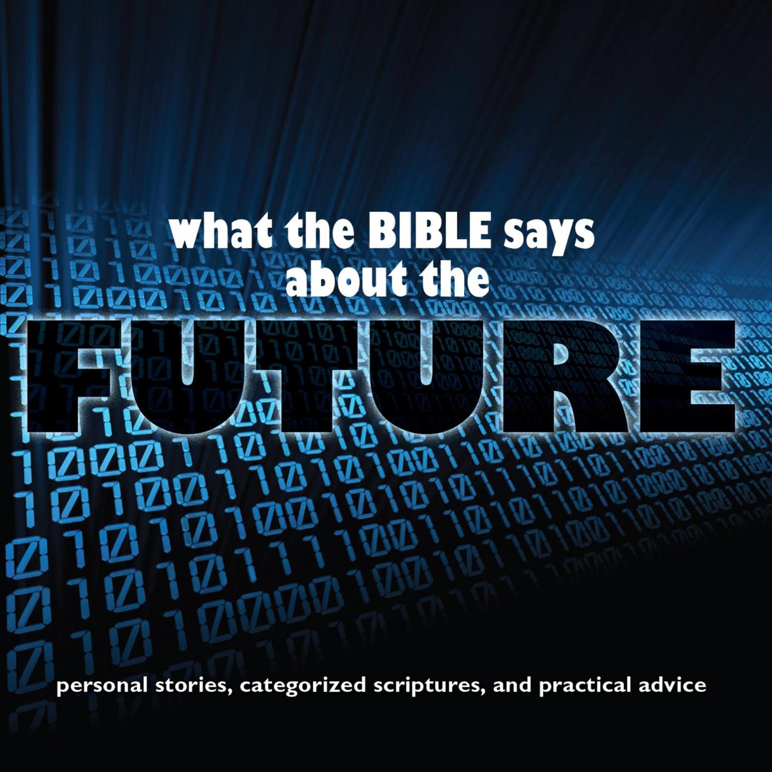 Printable What the Bible Says About The Future Audiobook Cover Art