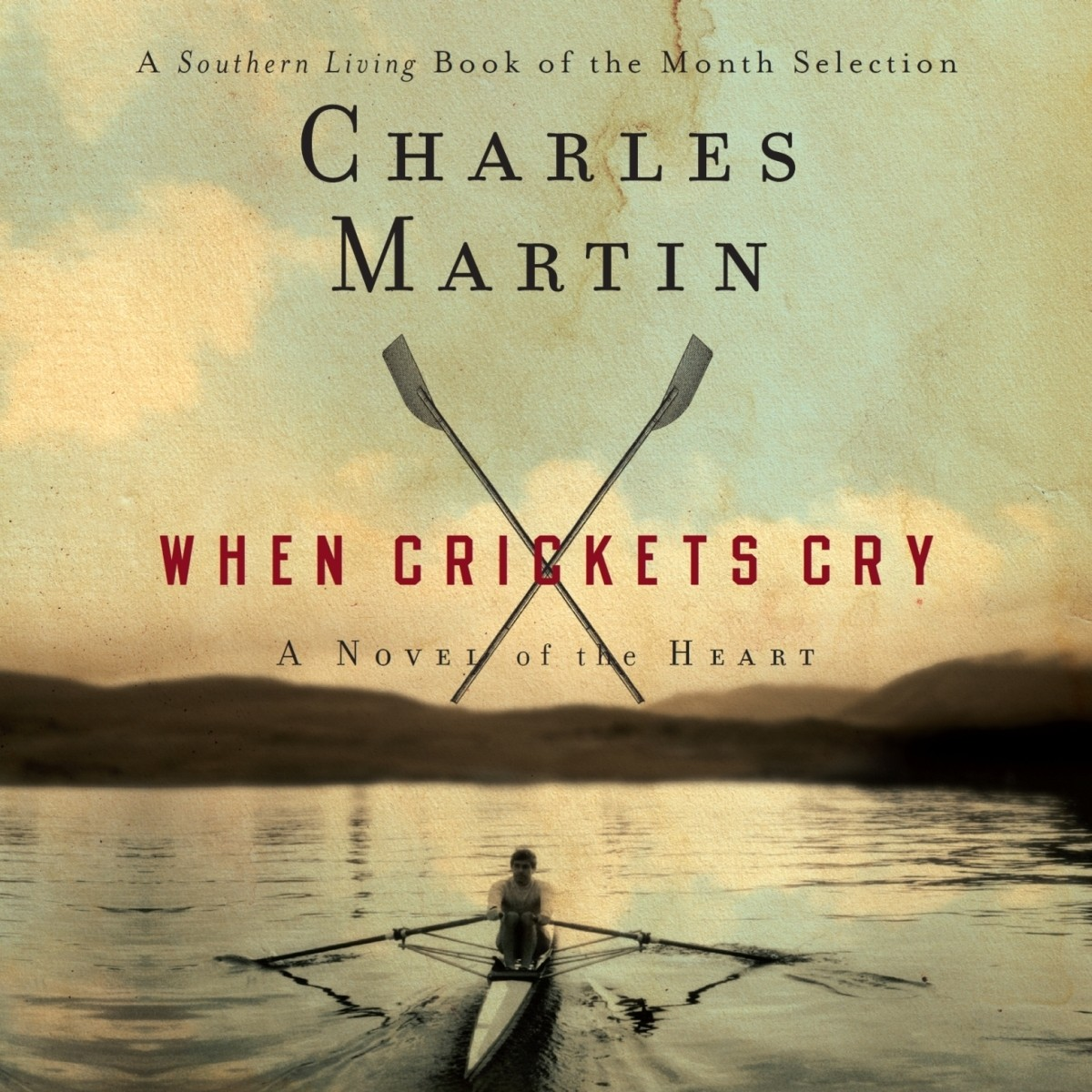 Printable When Crickets Cry Audiobook Cover Art
