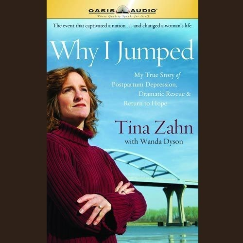Printable Why I Jumped: My True Story of Postpartum Depression, Dramatic Rescue & Return to Hope Audiobook Cover Art