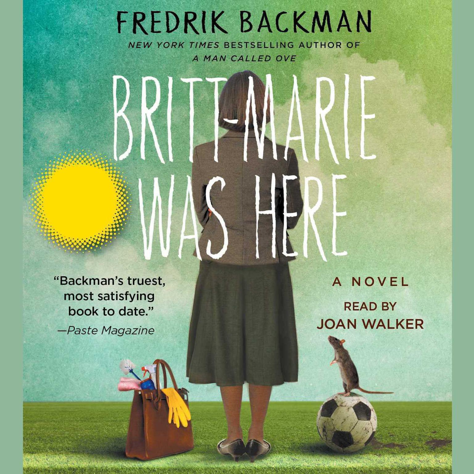 Printable Britt-Marie Was Here: A Novel Audiobook Cover Art
