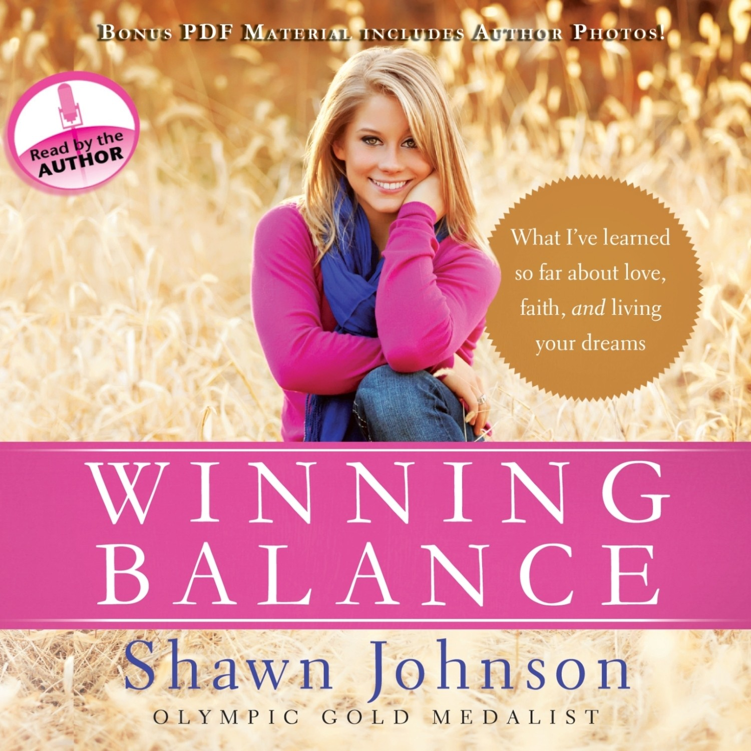 Printable Winning Balance: What I've Learned So Far about Love, Faith, and Living Your Dreams Audiobook Cover Art