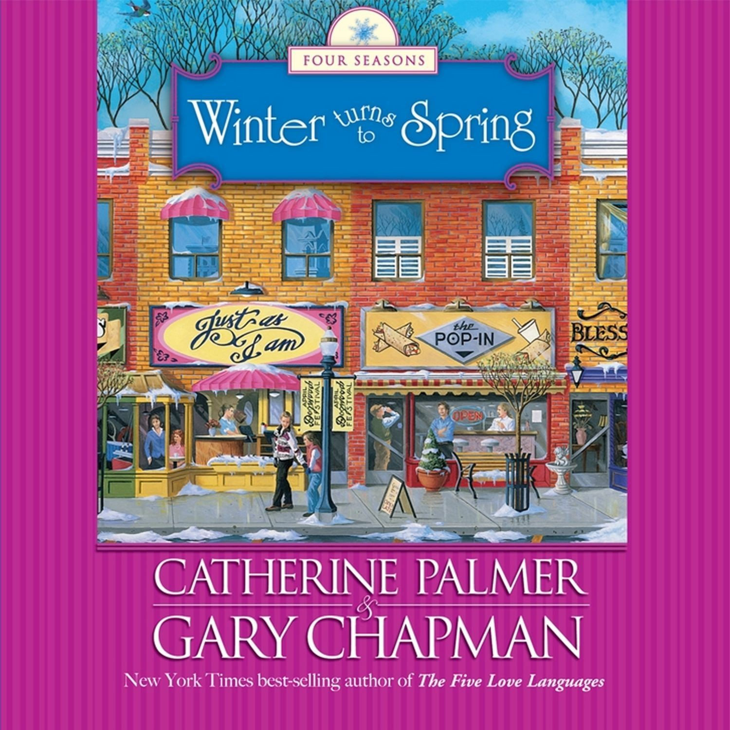 Printable Winter Turns to Spring Audiobook Cover Art