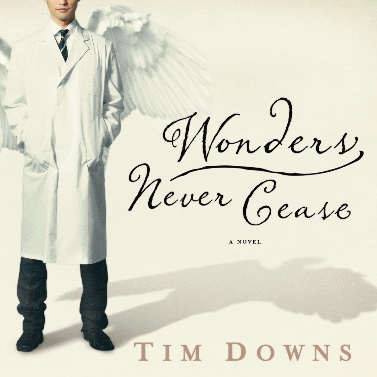 Printable Wonders Never Cease Audiobook Cover Art
