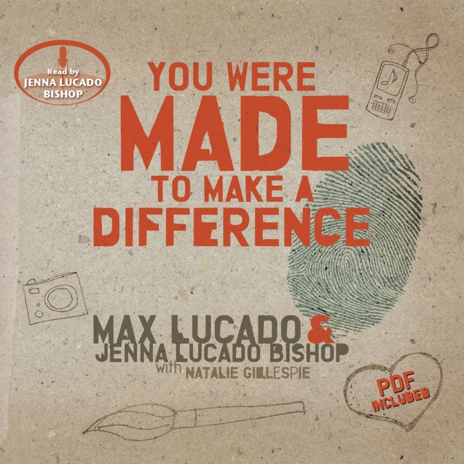Printable You Were Made to Make a Difference Audiobook Cover Art