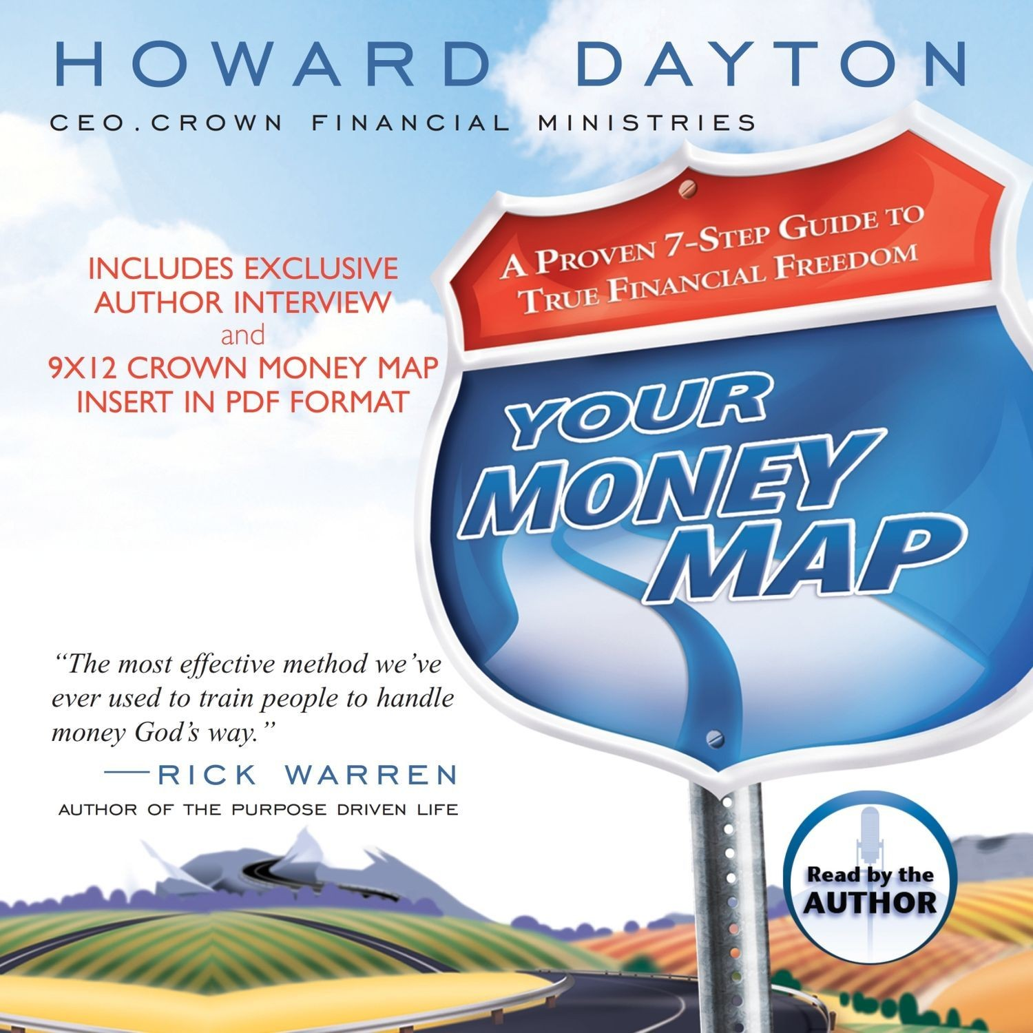 Printable Your Money Map Audiobook Cover Art