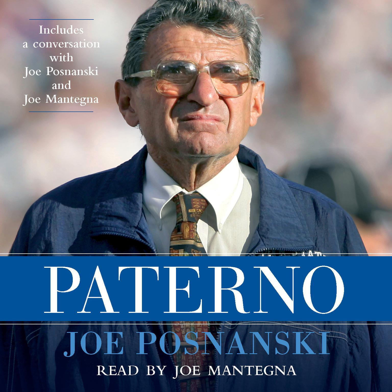 Printable Paterno Audiobook Cover Art