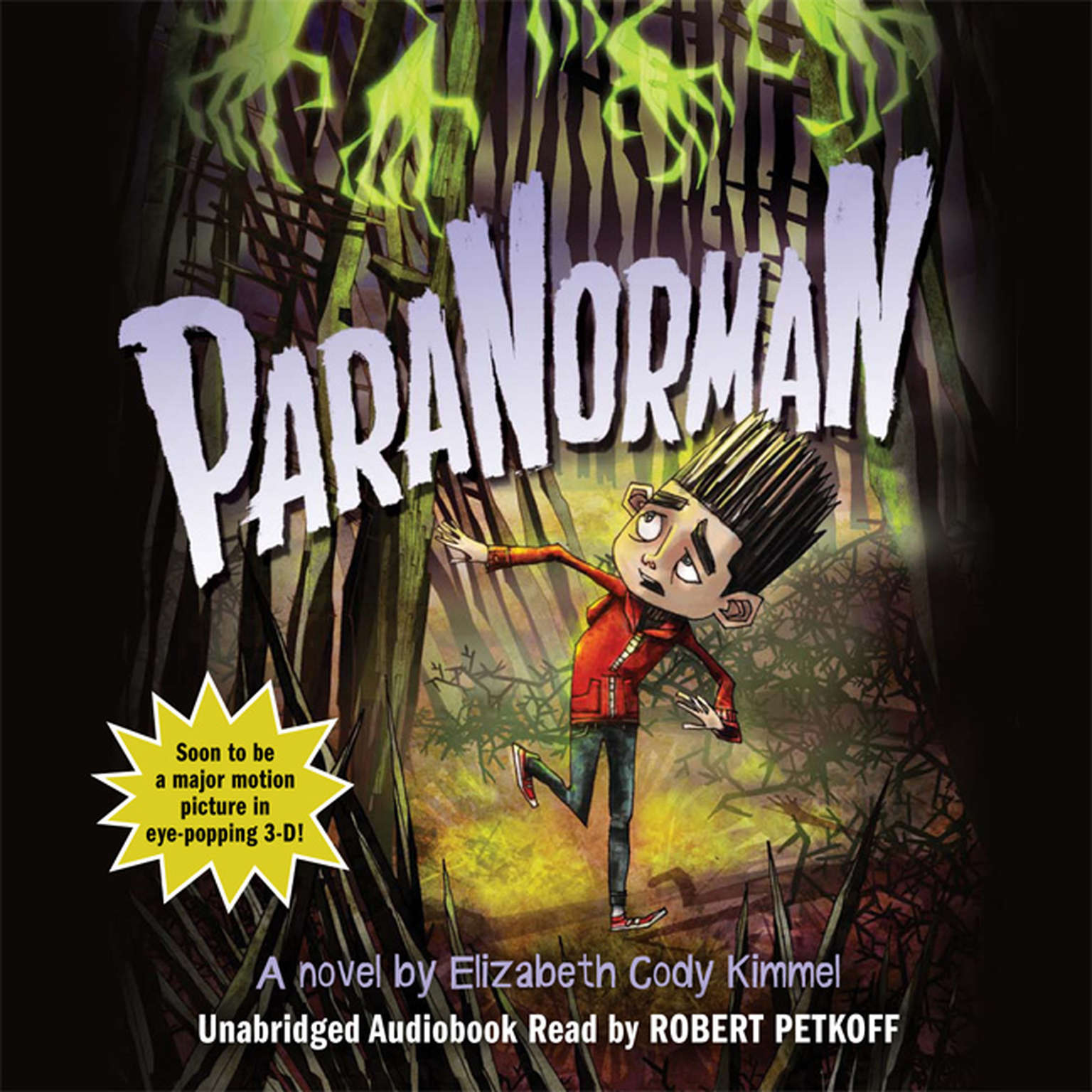 Printable ParaNorman: A Novel Audiobook Cover Art