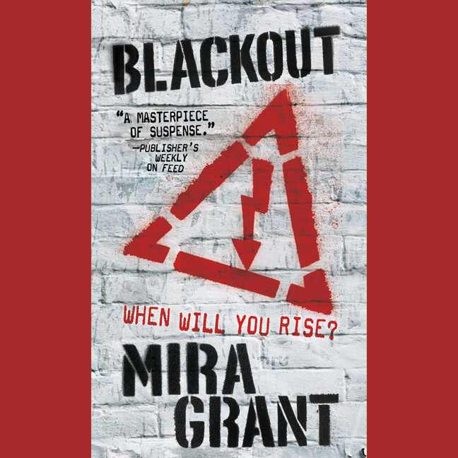 Printable Blackout Audiobook Cover Art