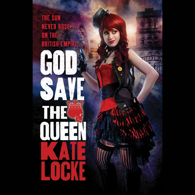 Printable God Save the Queen Audiobook Cover Art