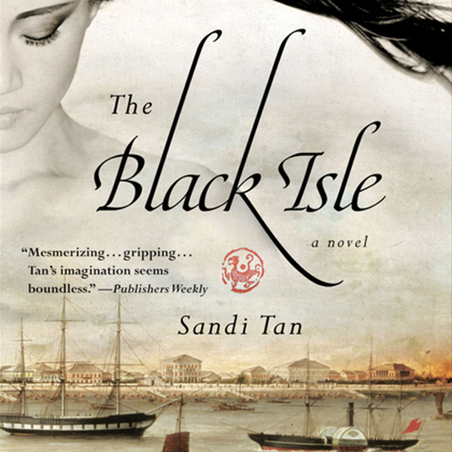 Printable The Black Isle Audiobook Cover Art