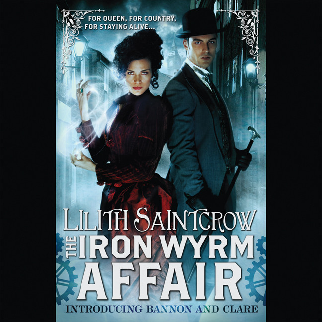 Printable The Iron Wyrm Affair Audiobook Cover Art