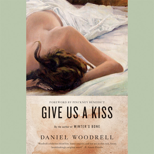 Printable Give Us a Kiss: A Country Noir Audiobook Cover Art