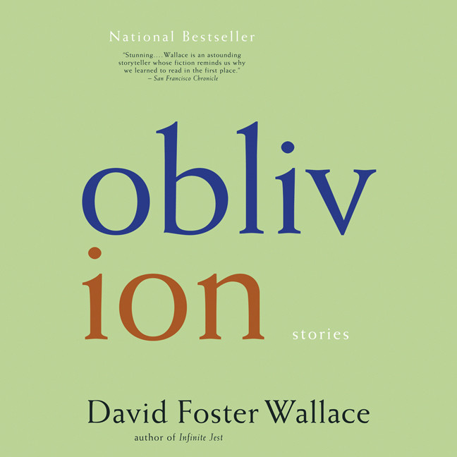 Printable Oblivion: Stories Audiobook Cover Art