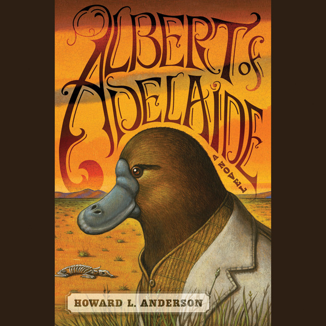 Printable Albert of Adelaide: A Novel Audiobook Cover Art