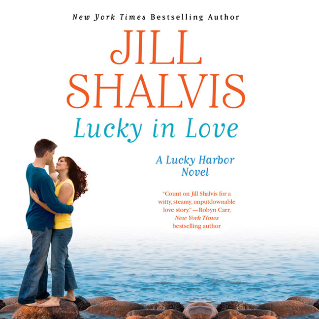 Printable Lucky in Love Audiobook Cover Art