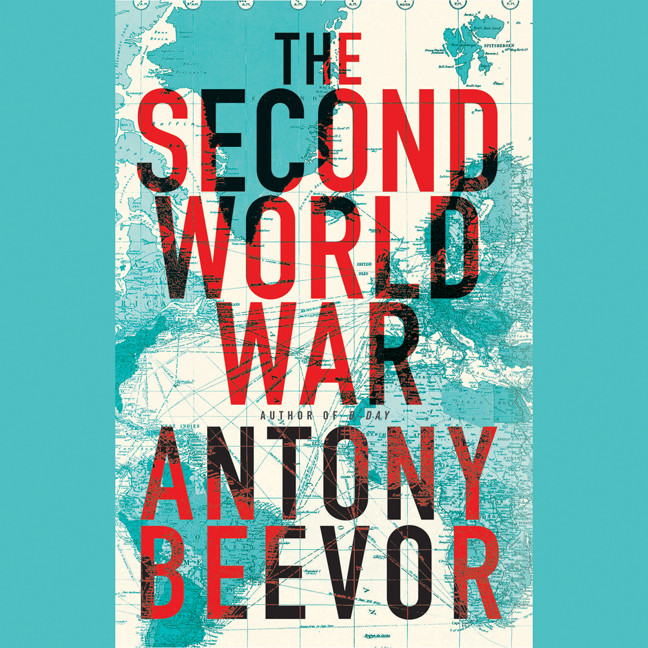 Printable The Second World War Audiobook Cover Art