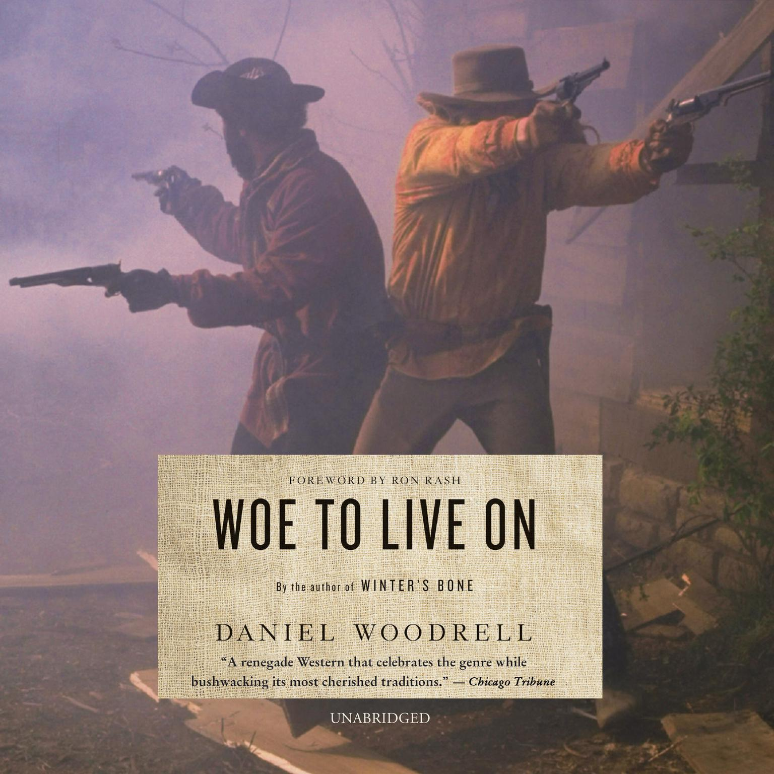 Printable Woe to Live On: A Novel Audiobook Cover Art
