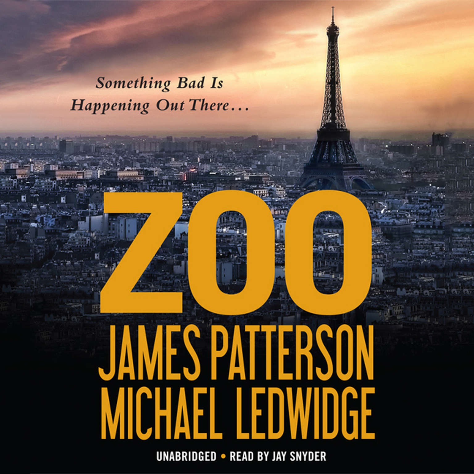 Printable Zoo Audiobook Cover Art