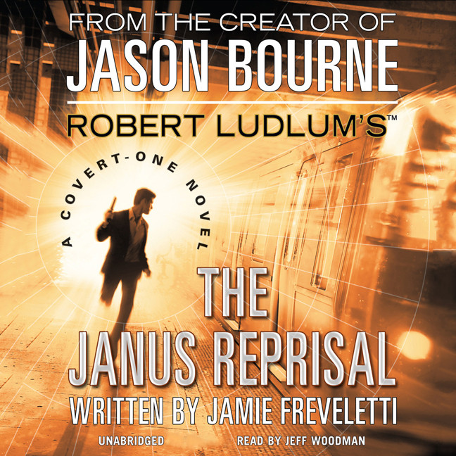 Printable Robert Ludlum's (TM) The Janus Reprisal: A Covert-One Novel Audiobook Cover Art