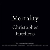 Mortality, by Christopher Hitchens