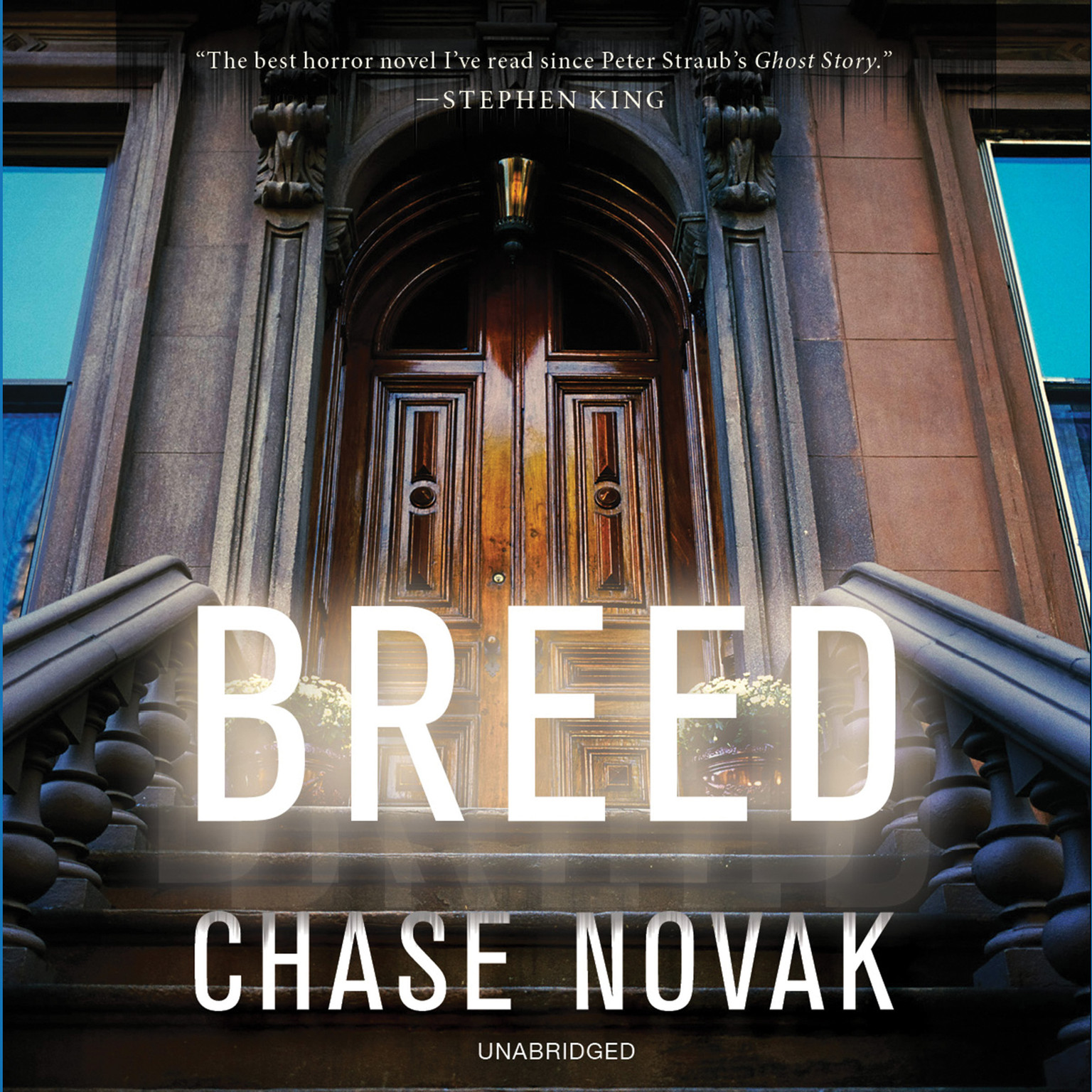 Printable Breed: A Novel Audiobook Cover Art