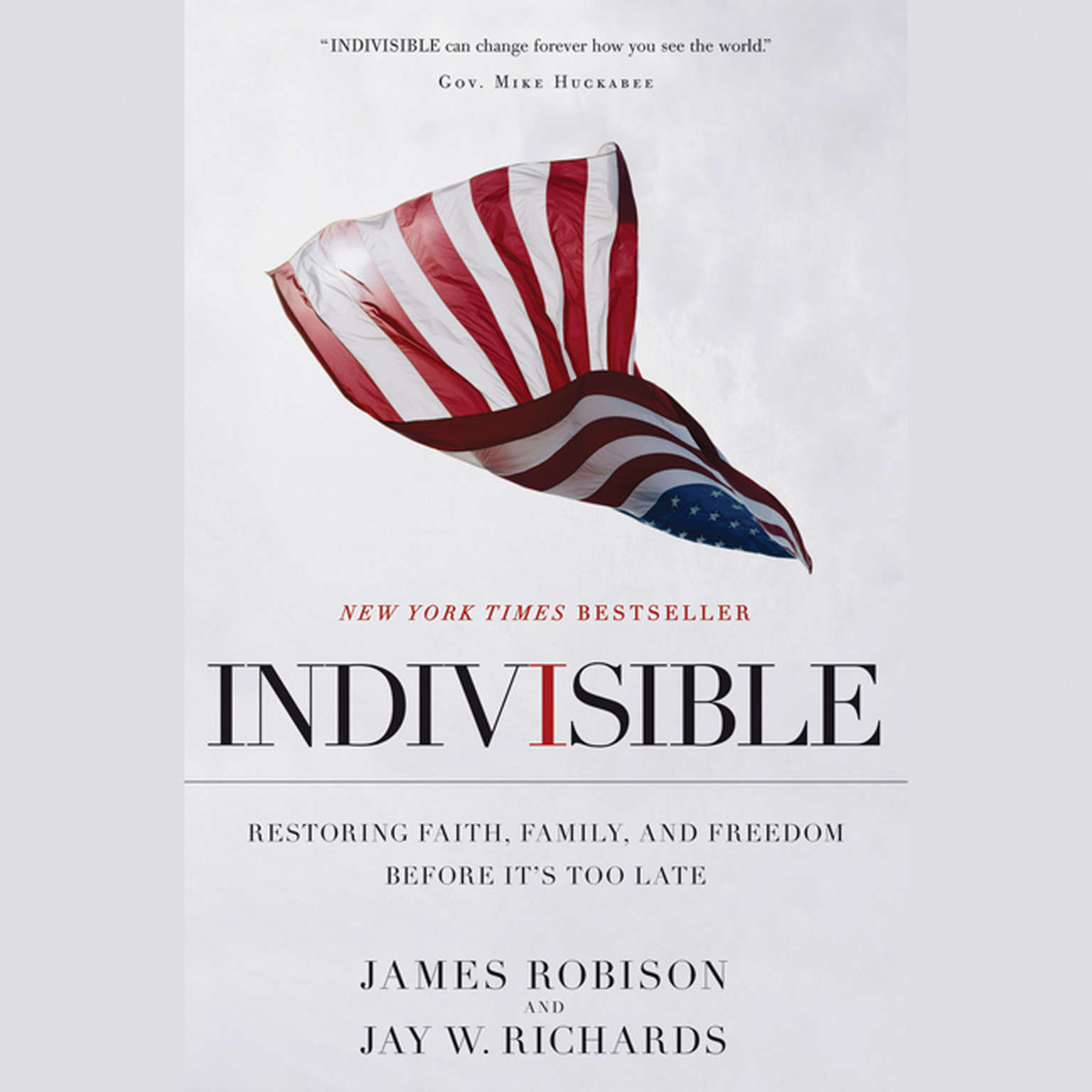 Printable Indivisible: Restoring Faith, Family, and Freedom Before It's Too Late Audiobook Cover Art