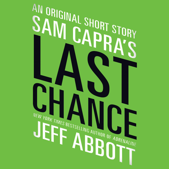 Printable Sam Capra's Last Chance Audiobook Cover Art