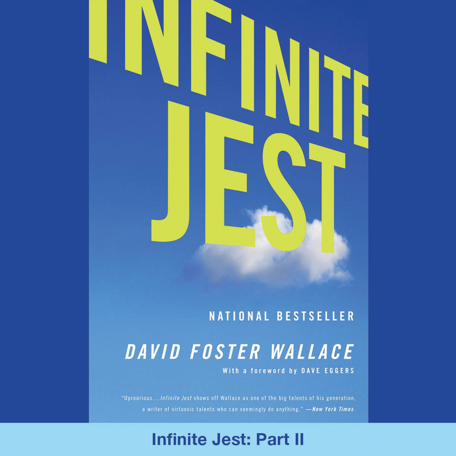 Printable Infinite Jest, Part 2: Part II Audiobook Cover Art