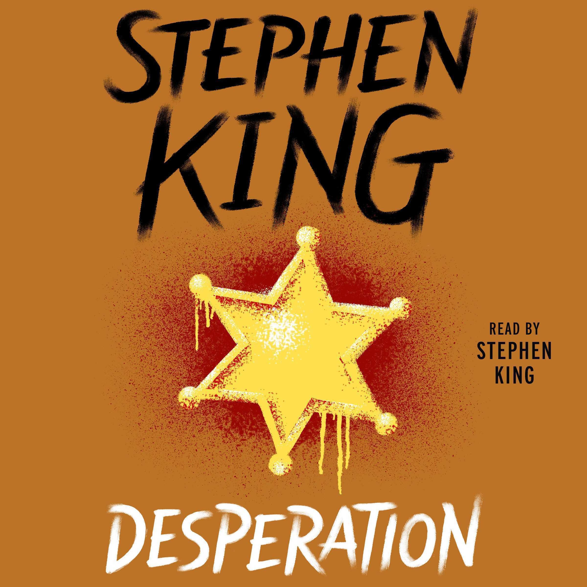 Printable Desperation Audiobook Cover Art