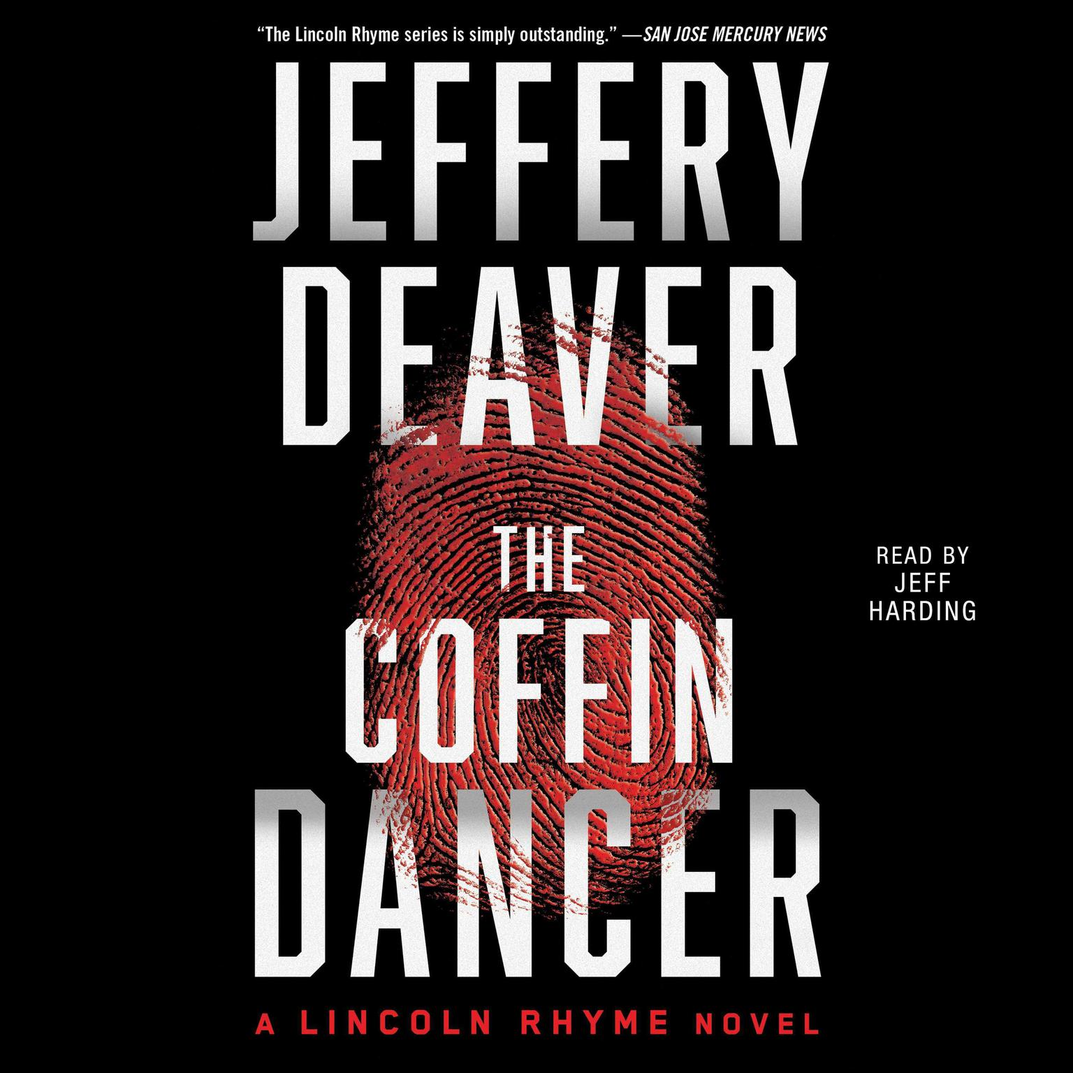 Printable The Coffin Dancer: A Novel Audiobook Cover Art