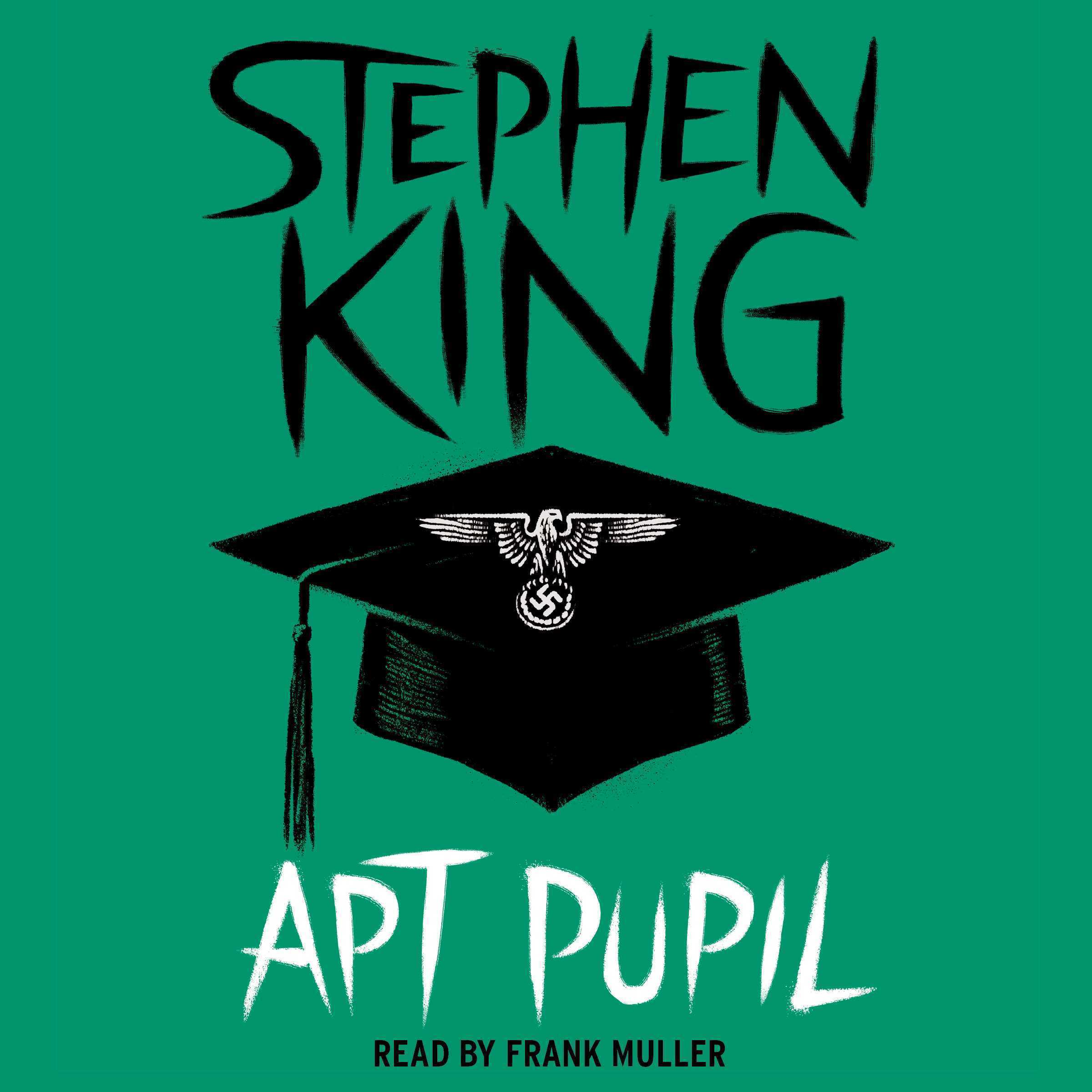 Printable Apt Pupil Audiobook Cover Art