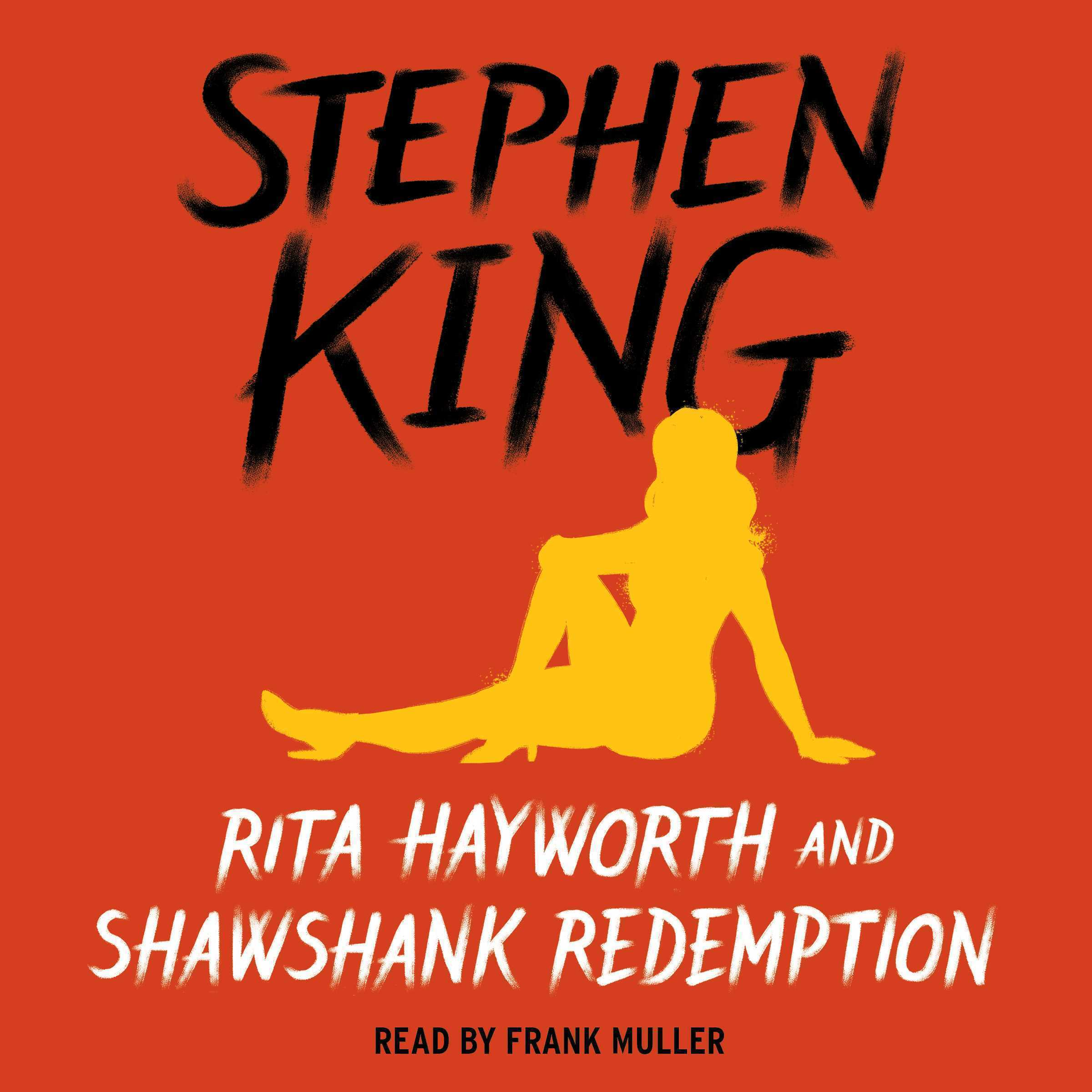 Printable Rita Hayworth and Shawshank Redemption Audiobook Cover Art